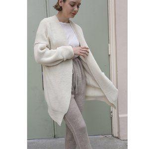 Lauren Manoogian Baby Alpaca Fisherman Sweater M/2